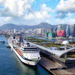 טרמינל הקרוזים קאי טאק בהונג קונג חגג את הנוסע 2 מיליון
