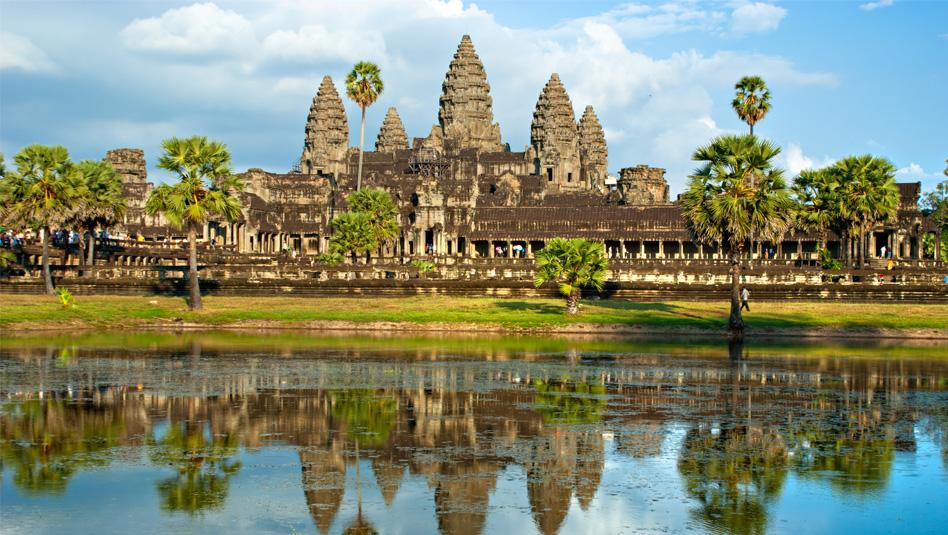 מקדשי אנגקור שבקמבודיה.מקום מושבה של הממלכה הקמרית. צילום Depositphotos