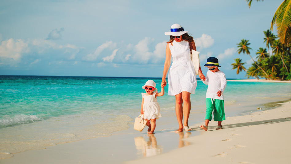 חופשה משפחתית בקריביים: צילום Depositphotos