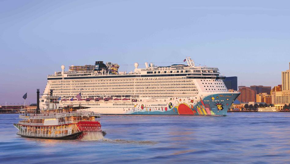 "Norwegian Breakaway: מסלולים מניו אורלינס לקריביים. צילום יח""צ"