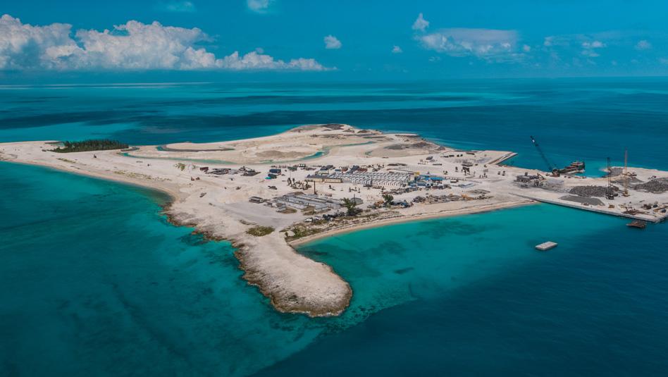 Ocean Cay MSC: גן עדן טרופי מוקף בים כחול קריסטלי. צילום MSC
