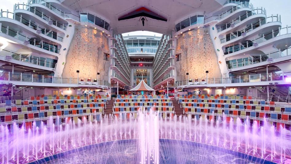 "AquaTheater באואזיס אוף דה סיז. צילום יח""צ"