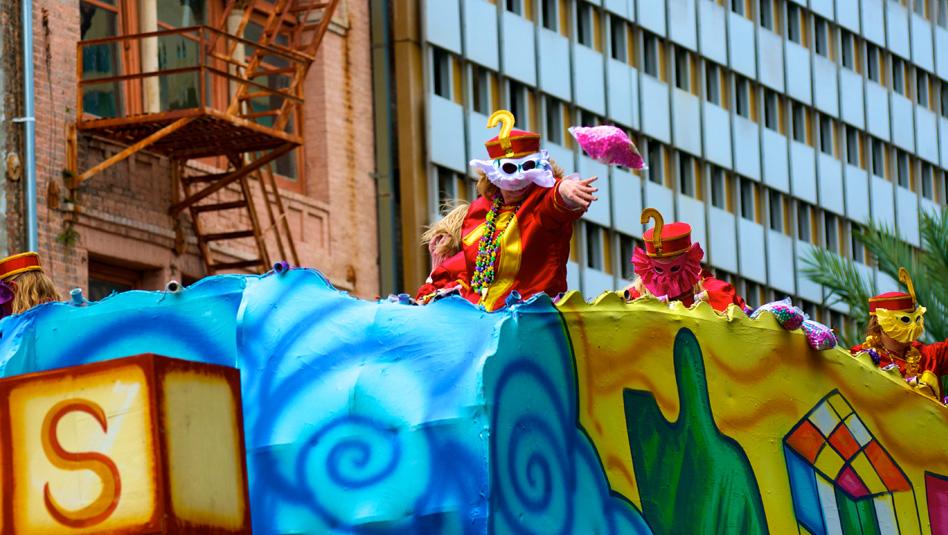תהלוכת מרדי גרא בהיו אורלינס. צילום Depositphotos