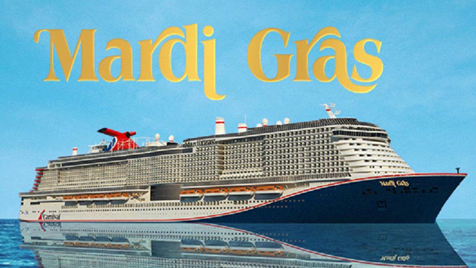 מרדי גרא (Mardi Gras) - האנייה הגדולה בצי שתימסר לחברה ב-2020. צילום קרניבל