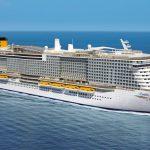 קוסטה קרוזס תפעיל אונייה שלישית בים התיכון
