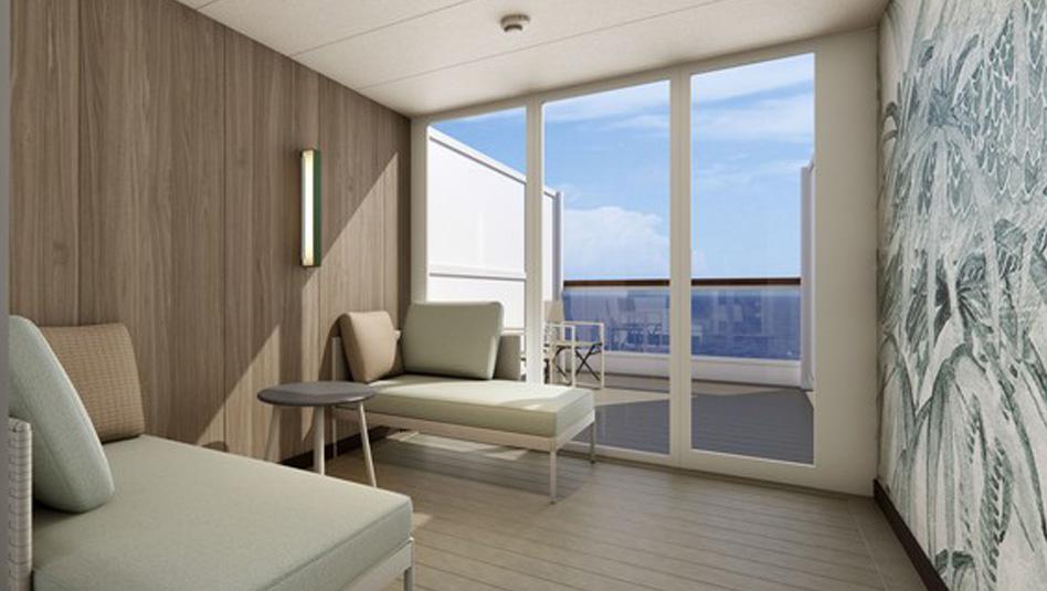 קטגוריית חדרים חדשה תכלול מרפסות גן (טרסות). צילום קוסטה