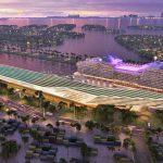 MSC מתכננת לבנות מסוף נוסעים חדש בנמל הקרוזים של מיאמי