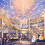 צפו: טעימה קטנה מהאונייה Disney Wish של דיסני קרוז ליין