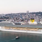 קוסטה דיאדמה- מלכת הים התיכון עגנה בנמל חיפה