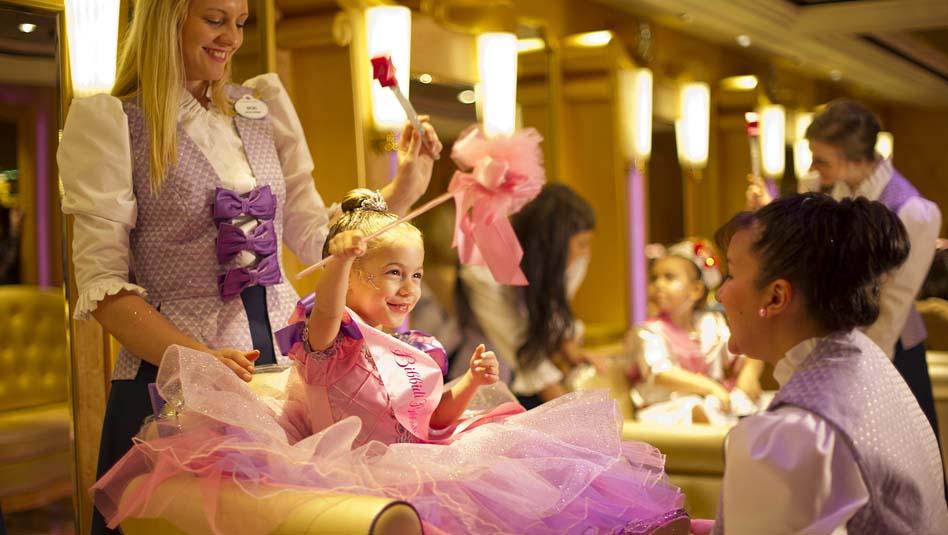 דיסני קרוז ליין היא הטובה ביותר לילדים קטנים. צילום דיסני