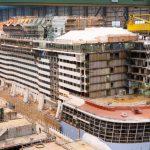 Odyssey of the  Seas: הבנייה ממשיכה במלוא הקצב