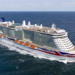 חברת P&O Cruises  קיבלה את האונייה Iona ממספנת מאייר ורפט