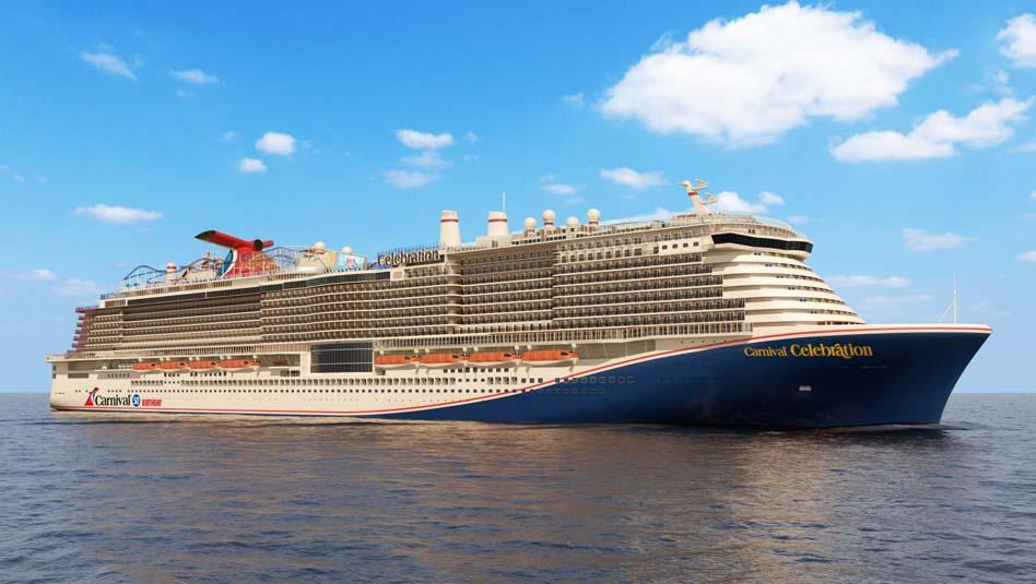 האונייה קרניבל סלבריישןשל קרניבל קרוז ליין. צילום קרניבל