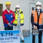 חברת P&O Cruises החלה בבניית אונייה חדשה