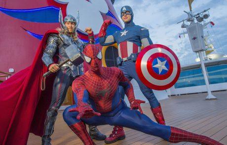 """דמויות """"קפטן מארוול"""" מצטרפים לשורה של גיבורי על באניות דיסני"""