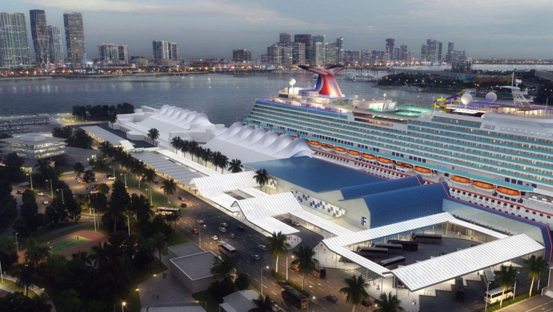 הפרויקט להרחבת טרמינל F בנמל מיאמי יצא לדרך
