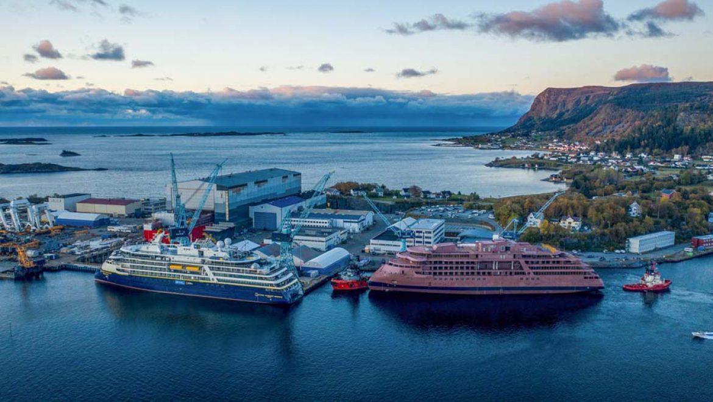הספינה National Geographic Resolution הגיעה לנורבגיה