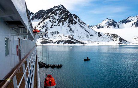 נורבגיה: עונת השייט הארקטי הסתיימה עוד לפני שהתחילה