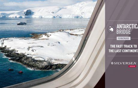 הגשר לאנטרקטיקה: סילברסי תטיס נוסעים ישירות לקוטב הדרומי