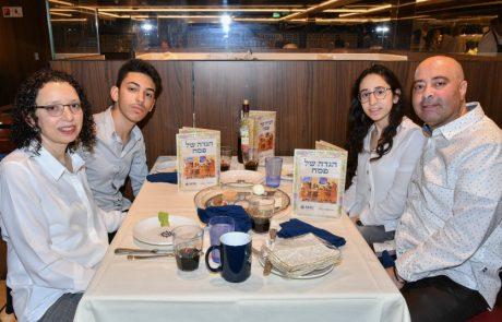 500 ישראלים חגגו את ליל הסדר בלב ים