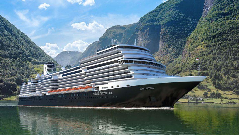 הולנד אמריקה ליין: שינוי שמה של האונייה החדשה מרינדם לרוטרדם
