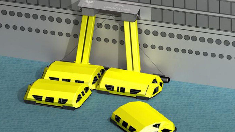 מערכת VIKING LifeCraft ™ – סירות הצלה מהדור החדש