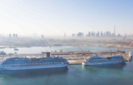 אוניות הקרוזים חוזרות לנמל אבו דאבי בספטמבר 2021