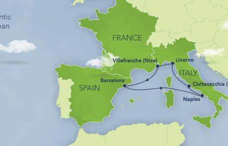 דיסני מג'יק: מסלול שיט בים התיכון