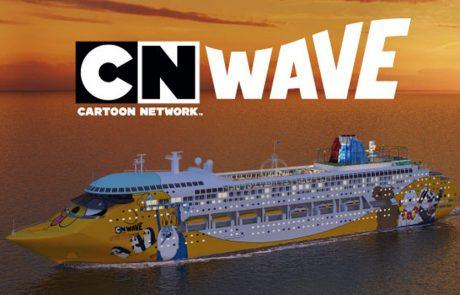 Cartoon Network Wave: חברת קרוזים שכולה דמויות מצוירות