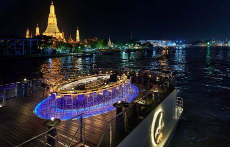 מסע קולינרי חדש בקרוז בנהר צ'או פראיה, בנגקוק