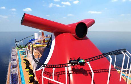 רכבת ההרים BOLT : האטרקציה החדשנית ביותר באוניית קרוזים