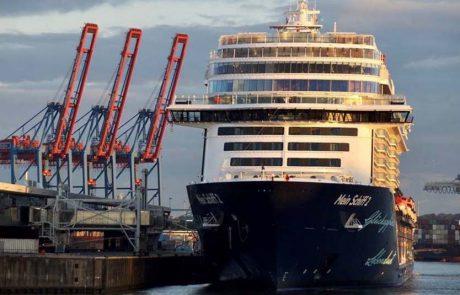 1200 נוסעים יצאו לראשונה לקרוז מנמל המבורג