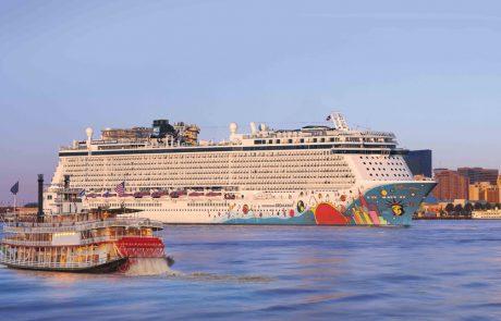 Norwegian Breakaway מציעה הפלגות מניו אורלינס לקריביים