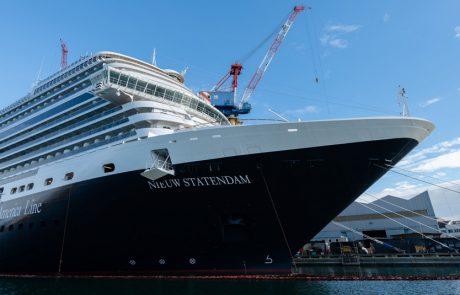 ניו סטאטנדאם: ברוכה הבאה לצי הולנד אמריקה ליין