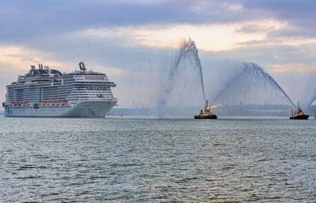 MSC Bellissima: הושקה בנמל סאות'המפטון