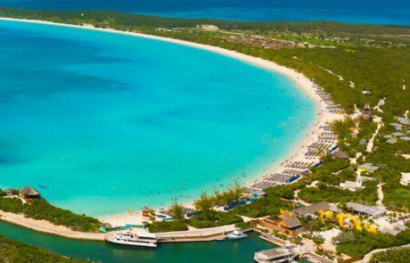 האי הפרטי Half Moon Cay נבחר שוב לטוב ביותר