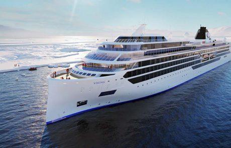 ספינת המשלחת הראשונה של ויקינג עוברת לשלב הבנייה הסופי