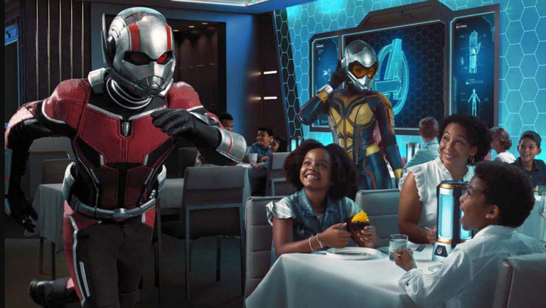 """מסעדת נושא חדשה ב-Disney Wish: """"הנוקמים, המפגש הקוונטי"""""""