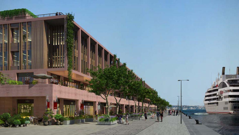 נמל Galata איסטנבול החדש יפתח החודש ויארח אוניות קרוזים