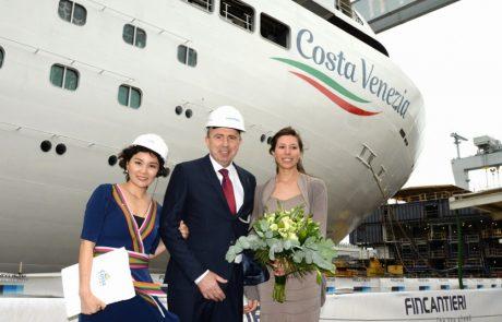 ונציה וזמרלדה – שתי אניות חדשות לקוסטה קרוזס